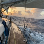 Passage Notes:  Cocos Keeling to Mauritius